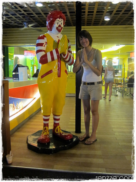 Ronald McDonalds in Phuket